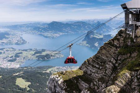 شرح حجز جولة التلفريك في لوسيرن سويسرا