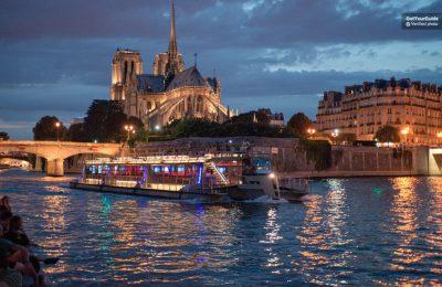 شرح حجز رحلة كروز بحرية في باريس لساعة واحدة