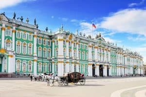زيارة متحف الإرميتاج - روسيا - سان بطرسبورغ