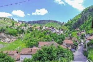 الوصول إلى العاصمة سراييفو - البوسنة والهرسك - سراييفو