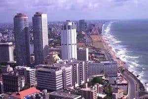 الوصول إلى العاصمة كولومبو – سريلانكا – كولومبو
