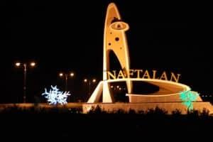 زيارة مدينة نفتالان – أذربيجان – نفتالان