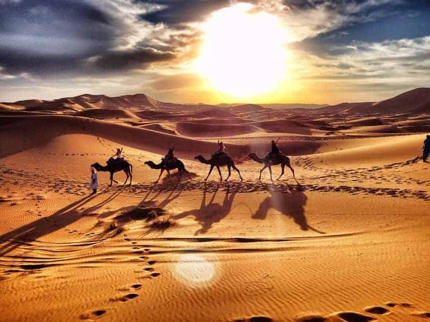 3 ايام في سفاري الصحراء من مراكش الى مرزوقة