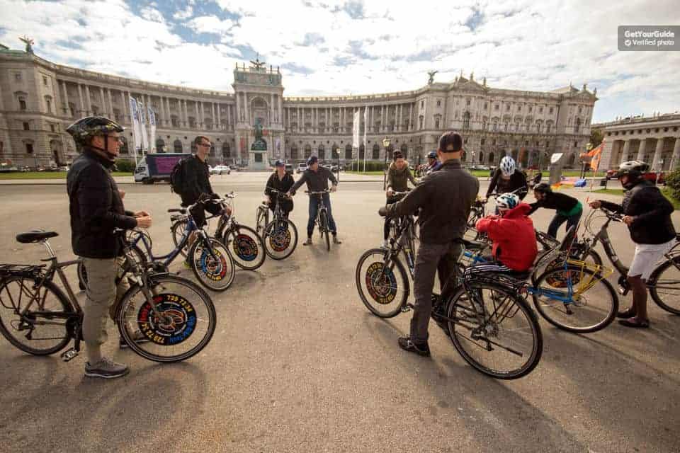 شرح حجز جولة على الدراجات الهوائية في فيينا