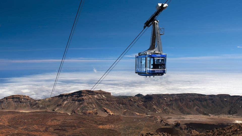 طريقة شراء تذكرة لتجربة تلفريك جبل تيد في تينيريفي اونلاين