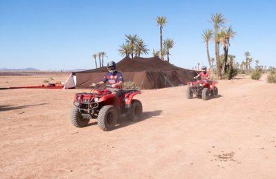 احجز رحلة ركوب الدراجات الرباعية في صحراء مراكش