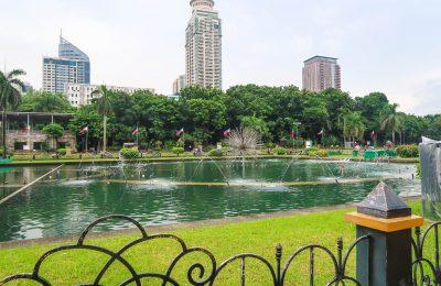 تقرير بالفيديو عن الحديقة الصينية في مانيلا