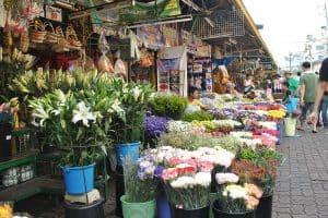 سوق دانغ وا للأزهار