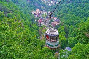 زيارة مدينة برجومي Borjomi – جورجيا – برجومي