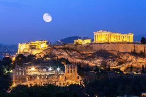 أجمل المعالم السياحية في  مدينة أثينا  - اليونان
