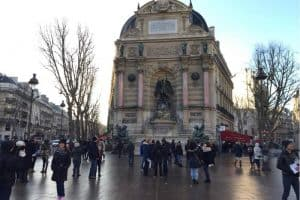 زيارة بعض الأماكن الجميلة - فرنسا - باريس