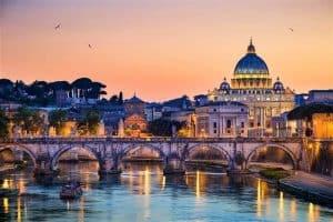 الوصول إلى مدينة روما Rome – إيطاليا – روما