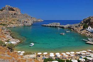 التعرف على أجمل السياحية في رودوس و خليج القدوس بولس ي2