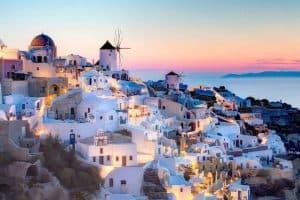 الذهاب الى مطار سانتوريني  - اليونان