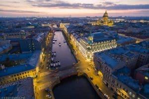 زيارة مدينة سان بطرسبورغ St. Petersburg - روسيا - موسكو
