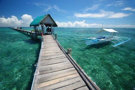 كم تبعد جزيرة سيبو عن بروكاي