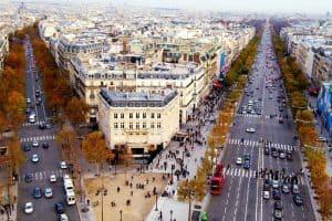 الوصول إلى مدينة باريس Paris - فرنسا - باريس