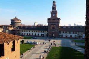 التجول في مدينة ميلانو – إيطاليا – ميلانو