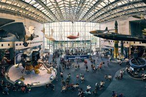 زيارة متحف البحر والجو والفضاء - امريكا - نيويورك