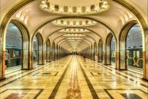 زيارة بعض الأماكن الجميلة  – روسيا – موسكو