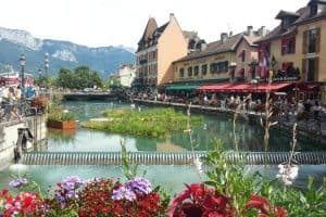 زيارة مدينة آنسي - فرنسا - آنسي