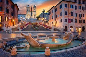الوصول إلى مدينة روما – إيطاليا – روما
