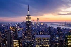 الوصول إلى مدينة نيويورك – امريكا – نيويورك