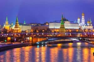 الوصول إلى مدينة موسكو – روسيا – موسكو