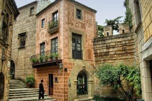 زيارة القرية الاسبانية في برشلونة Poble Espanyol  33