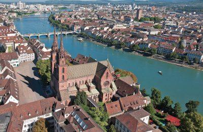 احداثيات بازل في سويسرا