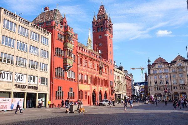 البلدة القديمة Basel Old Town