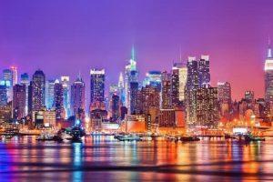 الوصول إلى مدينة نيويورك - امريكا - نيويورك