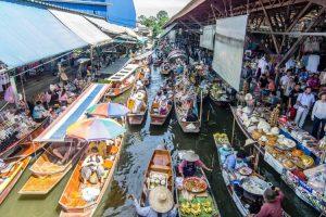 القيام برحلة تسوق - تايلاند - بانكوك