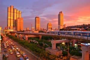 الوصول إلى العاصمة التايلاندية بانكوك - تايلاند - بانكوك