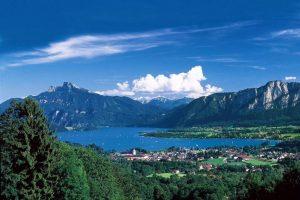 زيارة بحيرة موندسي MONDSEE - النمسا - سالزبورغ