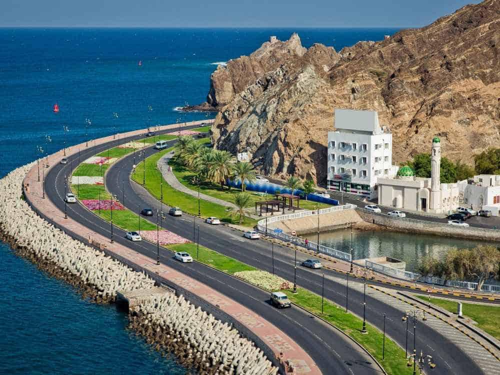 جدول اسبوع سياحي في مسقط (عاصمة الحكم بعمان)