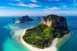 القيام بجولة بحرية بين أهم الجزر – تايلاند – كرابي