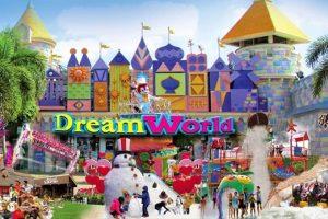 زيارة ملاهي دريم ورلد Dream World - تايلاند - بانكوك