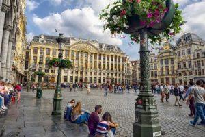ب151الوصول الى بلجيكا - بروكسل