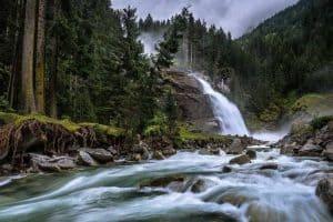 زيارة جبال كابرون وشلالات كريميل - النمسا - كابرون
