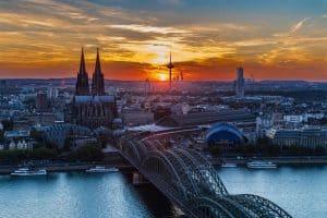 زيارة مدينة كولونيا – ألمانيا – كولونيا