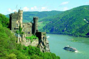 زيارة نهر الراين Rhine - ألمانيا - فرانكفورت