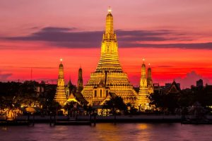 زيارة أشهر معالم السياحية – تايلاند – بانكوك