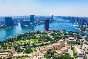 الوصول إلى العاصمة المصرية - مصر - القاهرة
