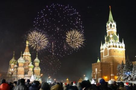 العيد في موسكو