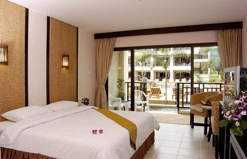 غرفة فندق deevana patong resort & spa