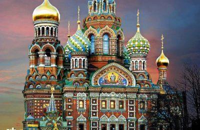 تقرير عن بطرسبروغ الروسية