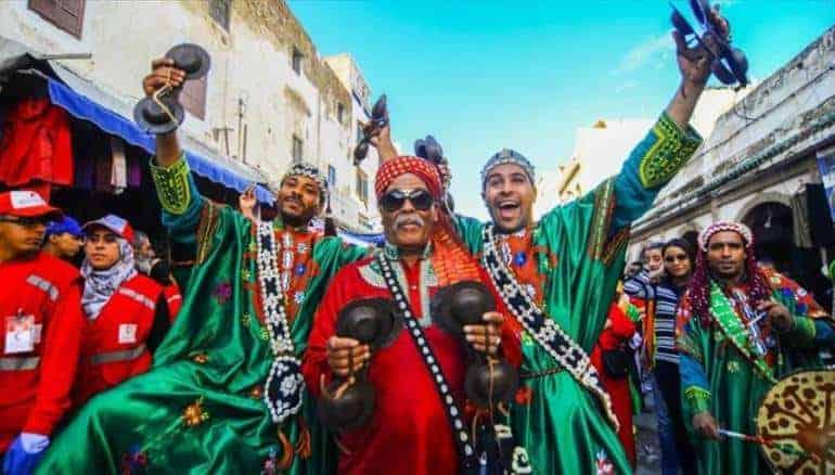احتفالات البربر في الصويرة