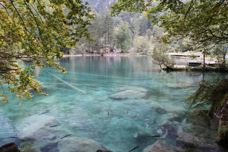 بحيرة Blausee