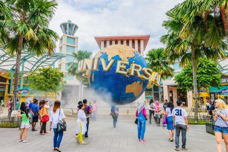 متعة الأطفال في سنغافورة